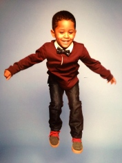 Styled my baby brother for his school pictures.