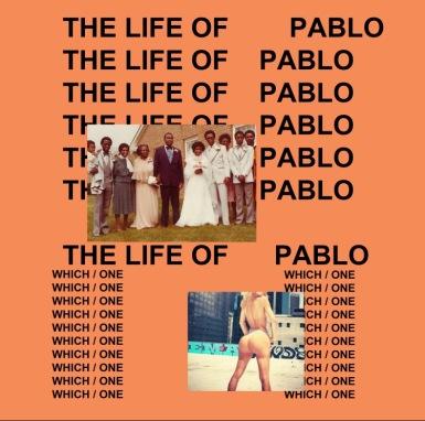 LIFE OF PABLO ALBUM