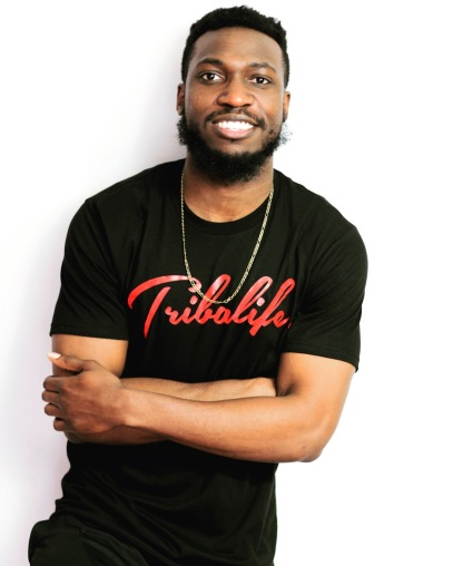 """My name is Wavy Davy and I'm a fashion designer from Baltimore, Maryland. I independently operate and control my own clothing company, Tribalife Brand Apparel. Being known as a designer is cool, but I like to consider myself more as """"a creative"""" because I write stories and poetry too, but fashion is my main focus."""